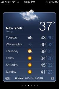 new york weather photo