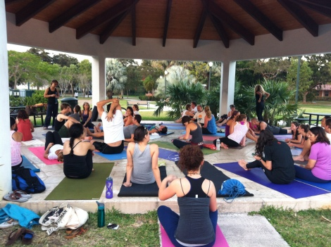yoga, freedom flow project, miami, community
