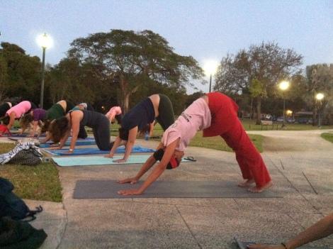 yoga, miami, freedom flow project, community