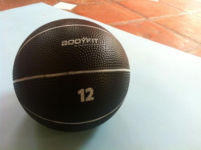 medicine ball, building a home gym, home gym, medicine ball workout